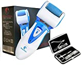 Rechargeable Electric Callus Remover And Set Of Stainless Steel Nail-Clippers Pedicure Tools for spa