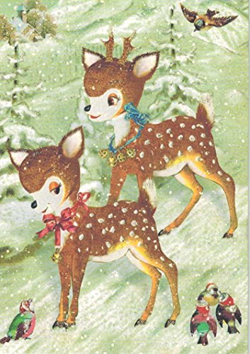 Roger la Borde Deer Boxed Christmas Cards
