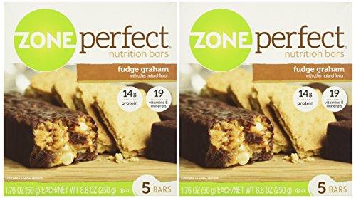 Zone Perfect Fudge Graham, 5 bars- 8.8 oz, 2 pack
