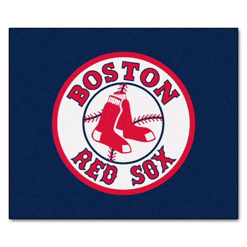FANMATS MLB Boston Red Sox Nylon Face Tailgater Rug Sox Tailgater Rug