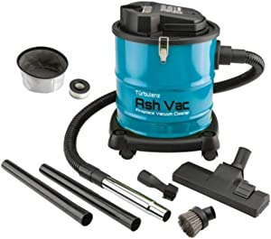 Turbulenz 10 Amp Fireplace, Stove and Grill Ash Vacuum with Accessory Kit, Blue