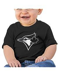ZSHIWENH Toronto Blue Jays Platinum Logo Unisex Baby T Shirt