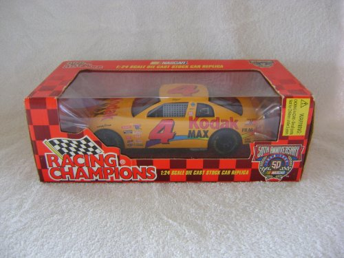 Racing Champions 1998 Bobby Hamilton #4 Kodak Max 1/24 Scale Die Cast Replica