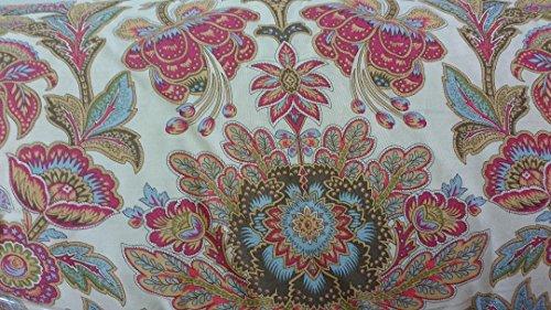 (Lauren Ralph Lauren Chapman Floral Berry Red Full / Queen 3-piece Comforter Set)