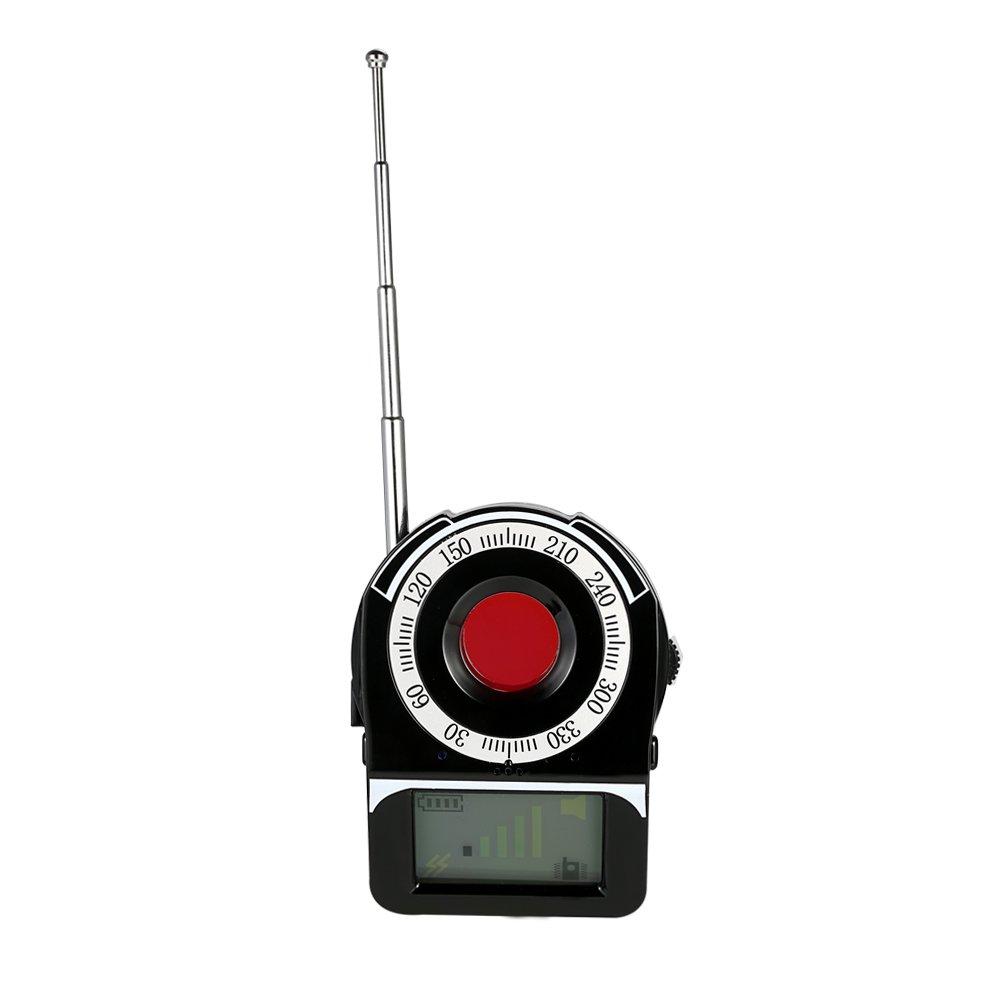 Walmeck Multi-functional Full-range RF Wireless Signal Radio Detector Camera Auto-detection Tracer 1MHz-6.5GHz Range Adjustable Sensitivity