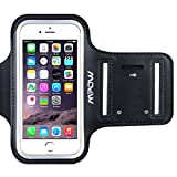 iPhone 6/6s Armband, Mpow® Ultra Soft Adjustable Sports Armband for iPhone 6 / iPhone 6s (4.7 inch) for Running, Biking, Hiking, Canoeing, Walking, Horseback Riding and other Sports, Black
