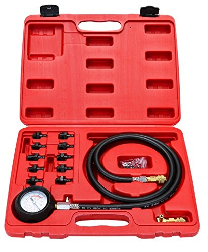 8milelake Engine Oil Pressure Test Kit Tester Car Garage Tool Low Oil Warning Devices freebirdtrading