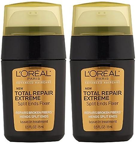 L'Oreal Paris Advanced Haircare Total Repair 5 Extreme Split End Treatment, 0.5 Fl Oz (Pack of 2) - Split Seal