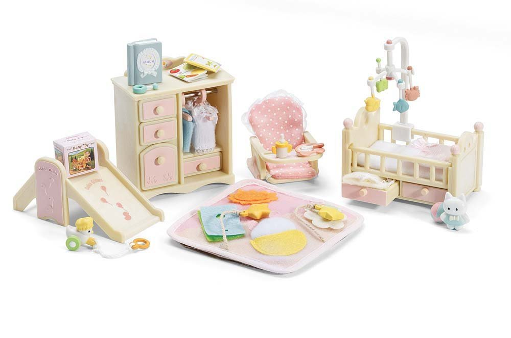 Calico Critters Deluxe Baby's Nursery Set International Playthings CC2269