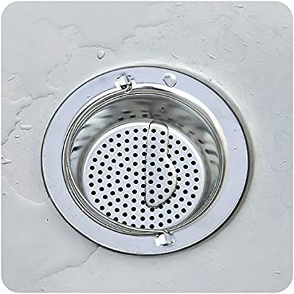 Special Section Shower Floor Drains Bathroom Floor Drain Hair Catcher Bathtub Plug Bathroom Kitchen Basin Stopper Cover Grate High Safety Bath Hardware Sets