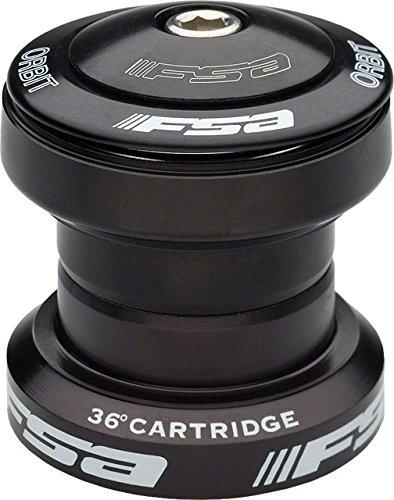 FSA Orbit UF Threadless Road Bicycle Headset Black - 1 1/8in (Black)