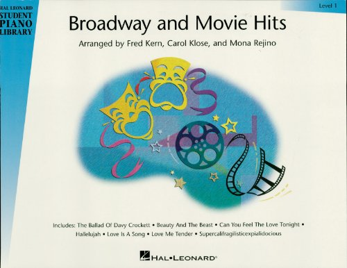 Broadway and Movie Hits - Level 1 Songbook: Hal Leonard Student Piano Library ()