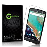 CitiGeeks® 3x Anti-Glare Premium Screen Protector for Google Nexus 5 (NOT 5X) by LG . Fingerprint Resistant. Matte. Pack of 3. CitiGeeks® Retail Package.