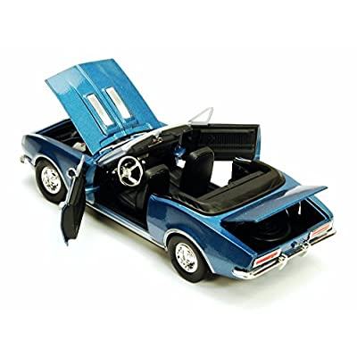 1967 Chevy Camaro SS, Blue - Showcasts 73301 - 1/24 Scale Diecast Model Toy Car, but NO Box: Toys & Games