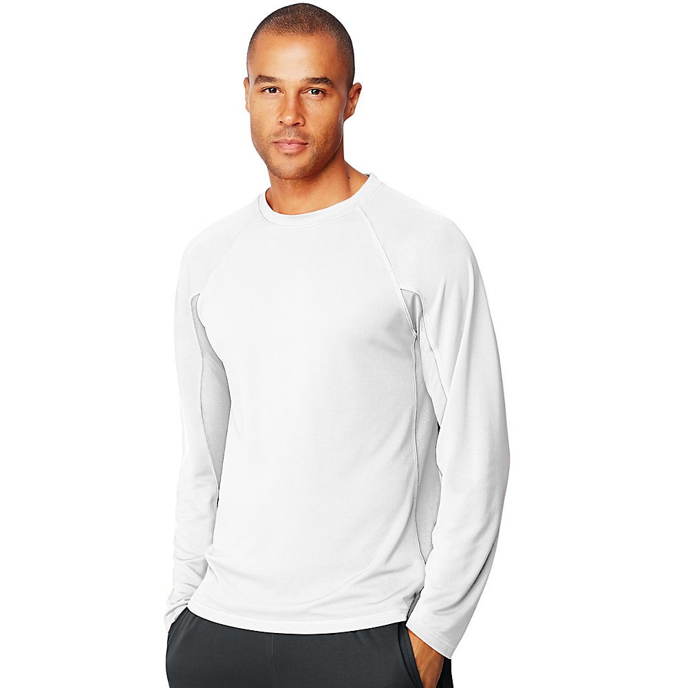 Hanes Sport X-Temp Mens Performance Long-Sleeve Training T-Shirt