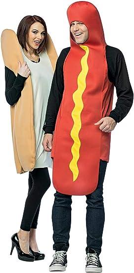 Disfraz de perrito caliente para pareja: Amazon.es: Juguetes y juegos