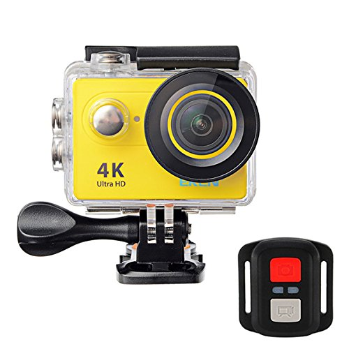 RISHIL WORLD EKEN H9R Sports Action Camera 4K Ultra HD 2.4G Remote WiFi 170 Degree Wide Angle Single Item.