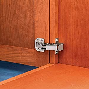 Surface-Mount Totally Concealed Face-Frame Hinge - Cabinet
