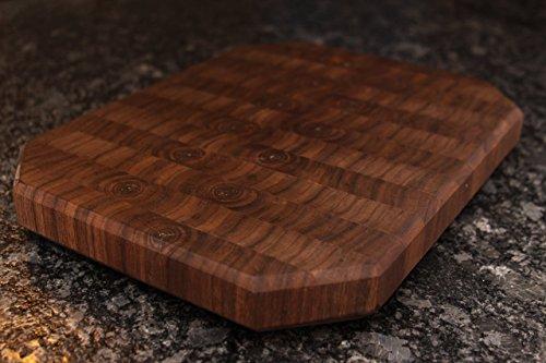 Walnut End Grain Wood Cutting (Flat Grain Cutting Board)