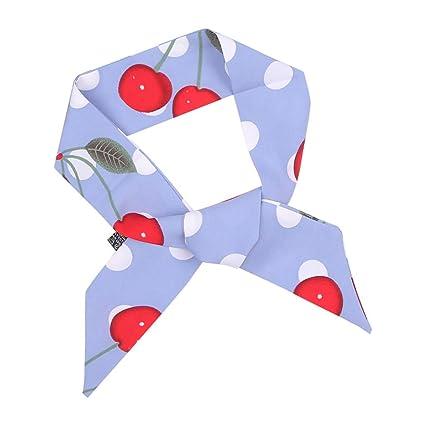 Satén de las mujeres pequeña plaza bufanda color sólido pequeño ...