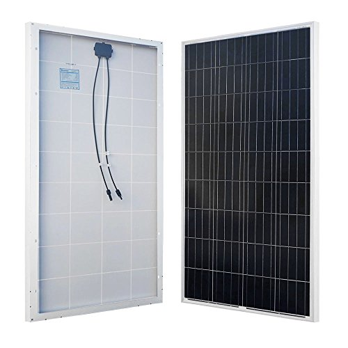 Power System Solar Grid Tied (Renogy RNG-160P Solar Panel, 1 Pack / 160 watt)