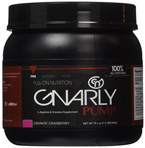 Gnarly Pump Crankin Cranberry Pre Workout || 100% All Natura