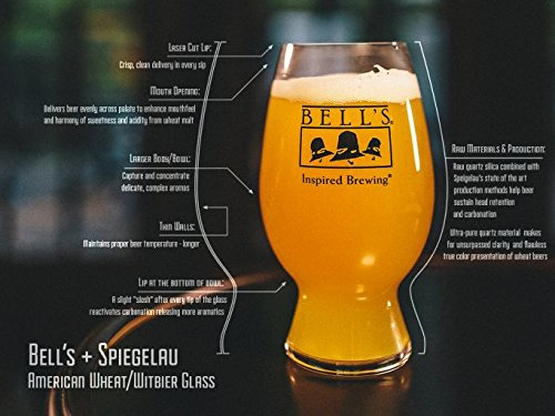 Two Bell - Bell's Brewery Specialty Wheat Glass by Spiegelau