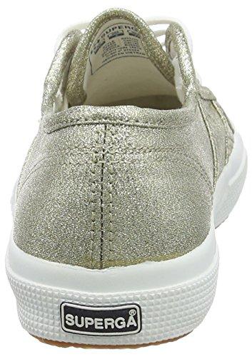 Superga2750 Lamej - Zapatillas Unisex, para niños, color plateado, talla 23 EU Niño