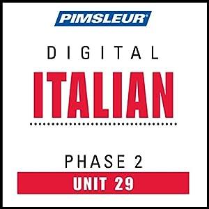 Italian Phase 2, Unit 29 Audiobook