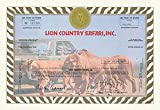 """Buyenlarge 0-587-00312-x-P1218 """"Lion Country Safari, Inc."""" Paper Poster, 12"""" x 18"""" offers"""