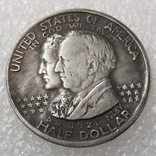 WuTing Best Morgan Alabama Commemorative Coin -1921 USA Old Coin -USA Old Commemorative Coin-Great American Coins-Discover History of Coins Great American Coin