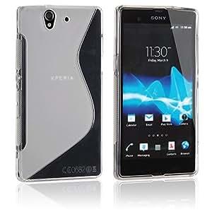 MCI Funda Gel TPU S-Line Sony Xperia Z L36h Color Semitransparente