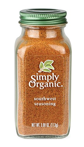 Simply Organic Certified Seasoning, Southwest, 3.98 Ounce