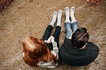 4pairs Merino Wool Socks Heather Charcoal Black Large 4