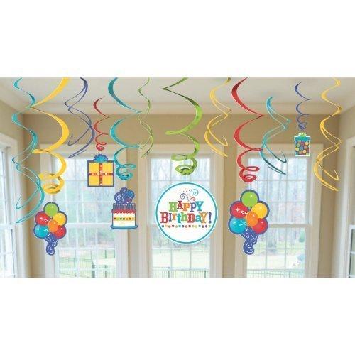 amscan Birthday Fever Swirl -