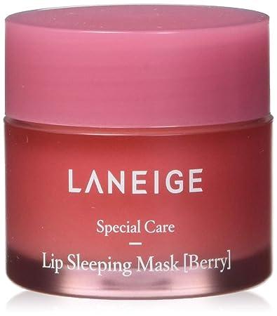 Amazon com : LANEIGE Lip Sleeping Mask, Berry, Lip Treatment, 0 7
