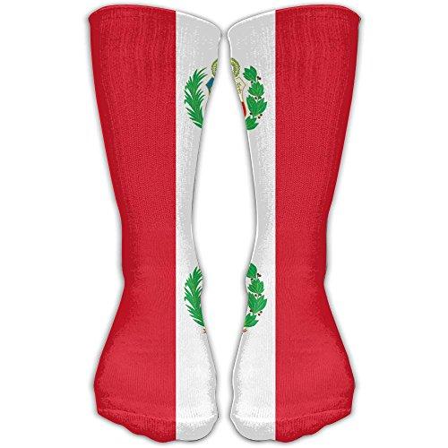 Men&Women Peru Flag Novelty Fashion Sock Crew Socks Casual Socks Ankle Dress Socks Fits Shoe Size - Peru Dress 2 Fancy