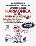 Country & Blues Harmonica for the Musically Hopeless: Revised Book and 73-Minute CD