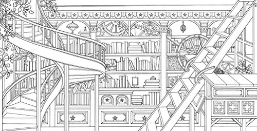 The Time Chamber Adult Coloring Books
