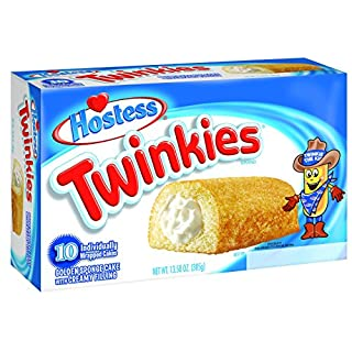 Hostess Twinkies, Original, 10 Count (Pack of 6) - SET OF 2