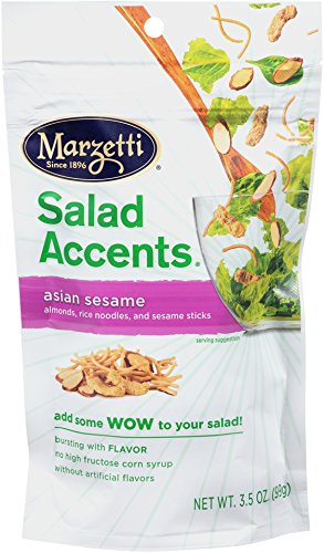 Marzetti Salad Accents, Asian Sesame, 3.5-Ounce (Pack of 6)