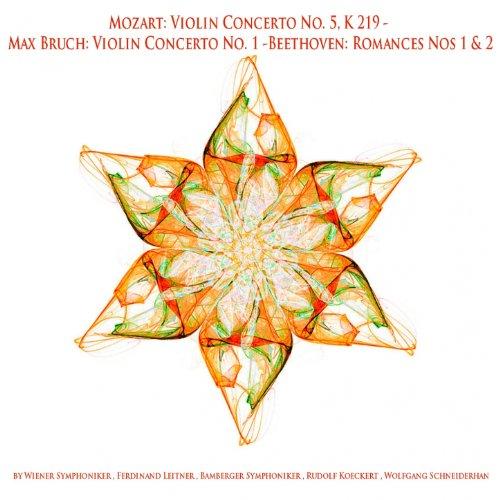 Mozart: Violin Concerto No. 5, K. 219 - Max Bruch: Violin Concerto No. 1 - Beethoven: Romances Nos 1 & 2 (Beethoven Violin Romance No 2 Sheet Music)