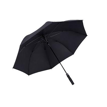 NAN Paraguas Grande Mango Largo Hombre Mujer Extragrande Doble Golf Automático Doble Negocio para tres personas