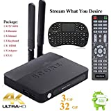 KUKELE-B61-2017-Strongest-Media-Player-TV-Box-S9123GB32GBOcta-Core4KAntennaInstructionWireless-Keyboard-Android-60-Marshmallow