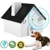 MONOJOY Dog Barking Control Devices, Dog Silencer Ultrasonic Dog Bark Deterrent Outdoor, Bark Controller Dog Anti Barking Device Stop Barking Dogs Silencer Bark Breaker, Safety, Friendly