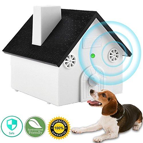 MONOJOY Dog Barking Control Devices, Dog Silencer Ultrasonic Dog Bark Deterrent Outdoor, Bark Controller Dog Anti…