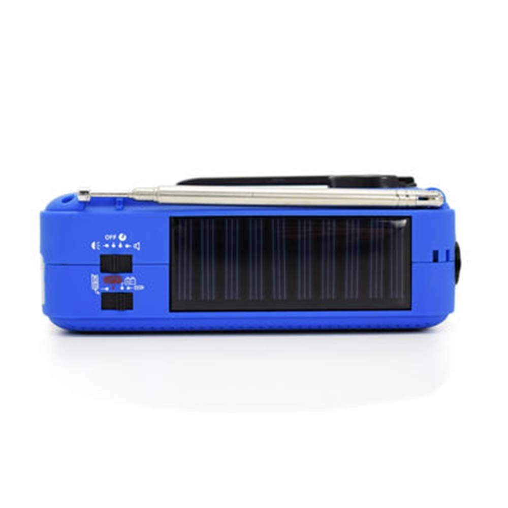 Outdoor dynamo&solar powered pocket radio with FM/AM/SW1/SW2&emergency light by 9POINT9