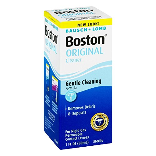 Bausch and Lomb Boston Original Cleaner for Hard Rigid Gas Permeable Contact Lenses, Travel Size 1 oz - Pack of 4 by Bausch & Lomb (Image #2)