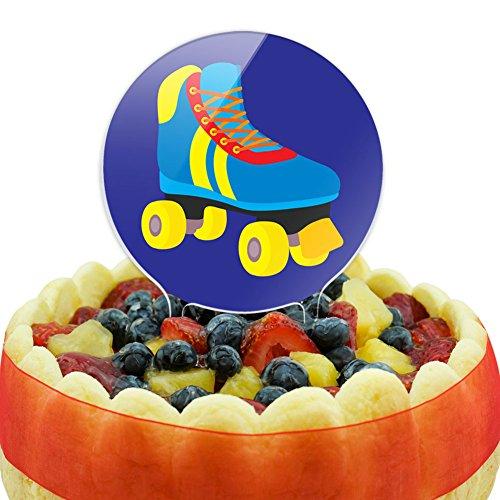 Roller Skate Skating Cake Top Topper