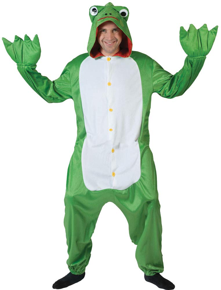 Funny Fashion Costume green frog one size in one animal costume jumpsuit green toad frog costume carnival
